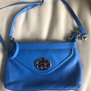 🦊 SALE 🦊 Blue Emma Fox Genuine Leather Handbag